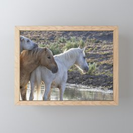Father and Sons Framed Mini Art Print