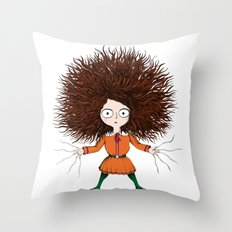 Crassetignasse Throw Pillow