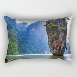 The Sentinel Rectangular Pillow
