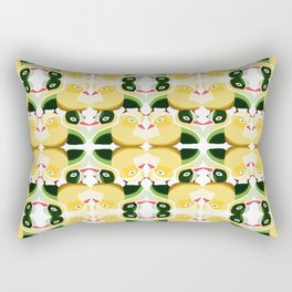 Pato Amarillo Rectangular Pillow