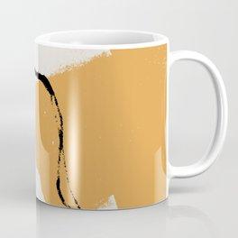 A touch of black #shapeart #digitalart Coffee Mug