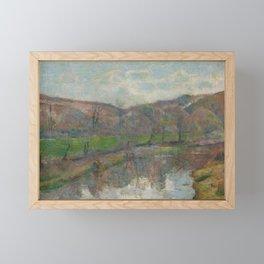 Brittany Landscape Framed Mini Art Print