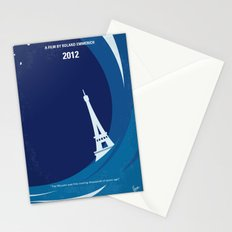 No709 My 2012 minimal movie poster Stationery Cards