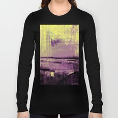 Yellow Color Patches Long Sleeve T-shirt