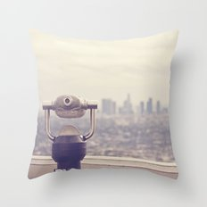The View: Los Angeles Throw Pillow