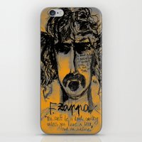 zappa iPhone & iPod Skins featuring Zappa by sladja