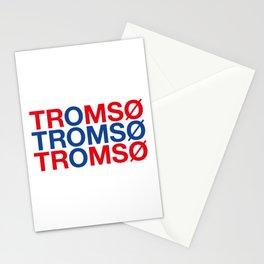 TROMSO Norwegian Flag Stationery Cards