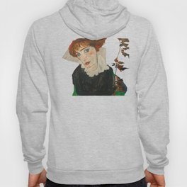 Portrait of Wally by Egon Schiele Hoody