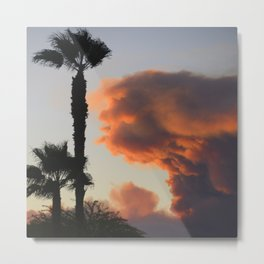 Fire Cloud (Pyrocumulus Cloud) in Cherry Valley, California Metal Print