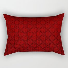 D20 Abyssal Crit Pattern Premium Rectangular Pillow