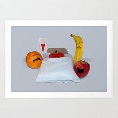 I'm Sorry He's A Vegetable Art Print