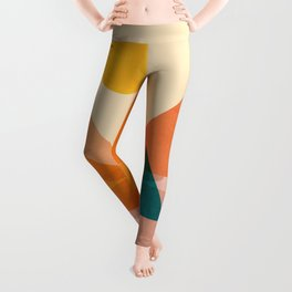 Abstraction_Lake_Sunset Leggings
