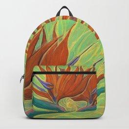 Strelitzia / Bird of Paradise Backpack