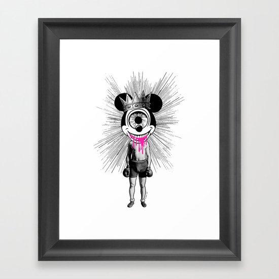 Fu…cked Up Celebrity Framed Art Print