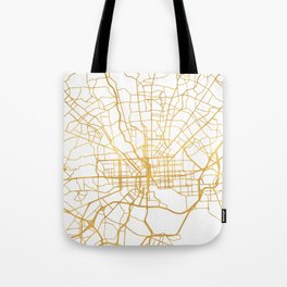 BALTIMORE MARYLAND CITY STREET MAP ART Tote Bag