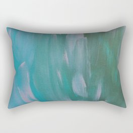 Brush Strokes Rectangular Pillow