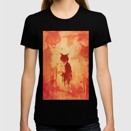Glimpse Of A Fox In The Forest T-shirt