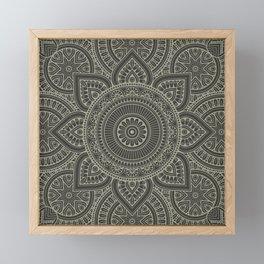 Mandala 2 Framed Mini Art Print