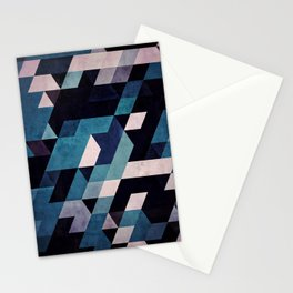 blux redux Stationery Cards