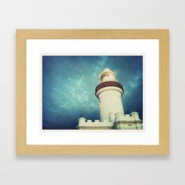 Lighthouse, Byron Bay Framed Art Print