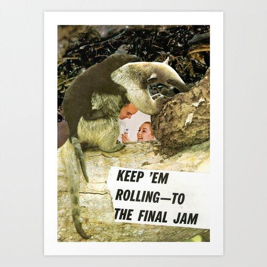 THE FINAL JAM Art Print