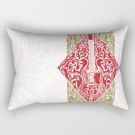 Resonate Bridge | Ace of Diamonds Rectangular Pillow
