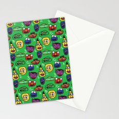 Sesame Street Pattern Stationery Cards