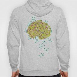 Floral Brain Hoody