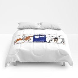 Nocens Lupus (Bad Wolf) Comforters