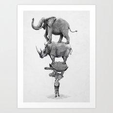 In Your Hands Art Print