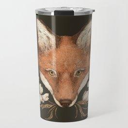 The Fox and Dogwoods Travel Mug