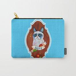 Feline Denial Carry-All Pouch