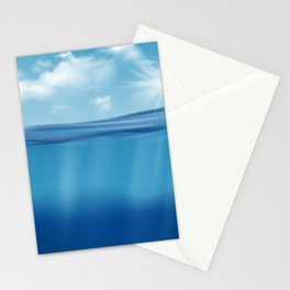 Come, Swim with me - series - Stationery Cards