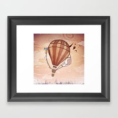 Flight Series Two Framed Art Print