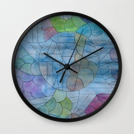 Sanity Is A Playground Wall Clock