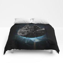 Stealth Falcon Comforters