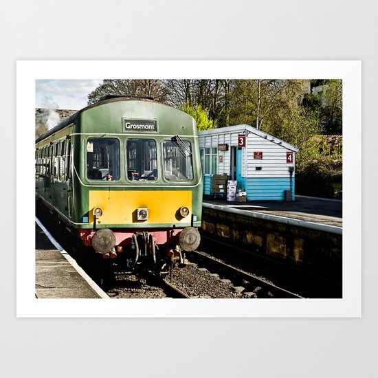 Grosmont Station Art Print