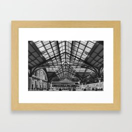 Liverpool Station Framed Art Print