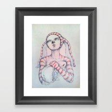 The Bunny rabbit Framed Art Print