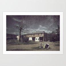Dead & Gone Art Print