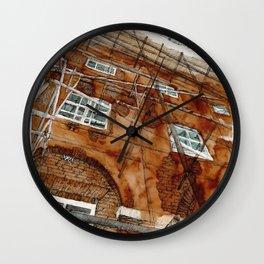 Scaffolding Sketch Wall Clock