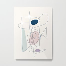 Abstract Movement 07 Metal Print