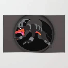 Houndoom-Dark Type Revisited *SPECIAL EDITION* Rug