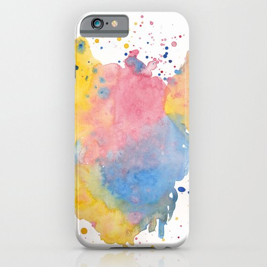 RAINBOW SPLATTER iPhone & iPod Case