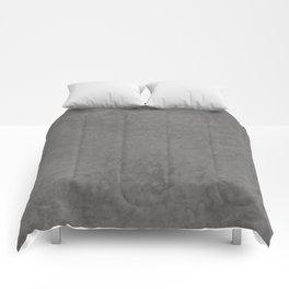 Pantone Pewter, Liquid Hues, Abstract Fluid Art Design Comforters
