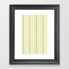 Pretty as a fern  Framed Art Print