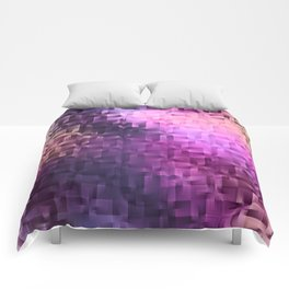 Winter Abstract Comforters