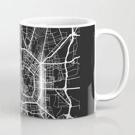 Milan, Italy Street Map Coffee Mug