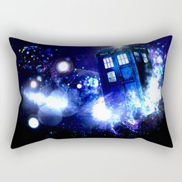 Tardis Background space Rectangular Pillow