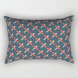 Plane Old Swiss Rectangular Pillow